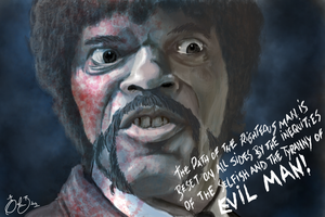 Pulp Fiction - Jules Winnfield by maghneth