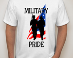 Military Pride Tee Design by DraftHorseTrainer