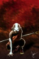 Avatar Aang by Jaydawg