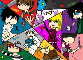 Death Note Wallpaper by SnowwQueen