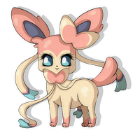 Sylveon by Suesanne
