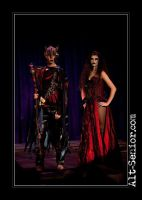 Hades and Persephone by Brulee