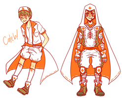 Nurse Gayleb by pikmama