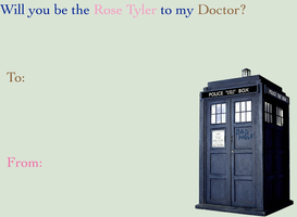 Doctor Who Valentine I by hallyboo123
