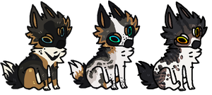 Chibi Canine Batch -Open- by Errored-Adopts