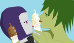 OTP Challenge Day 13: Eating Ice Cream by BBRAE1994