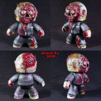 Zombie Mighty Muggs  OOak by Undead-Art