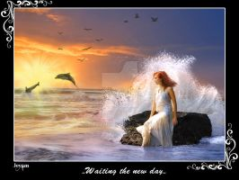 ..Waiting the new day.. by Jeyam