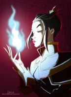 Old shit con color -Azula- by DonPapi