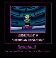Brainiac 5 by Claire-Aurora