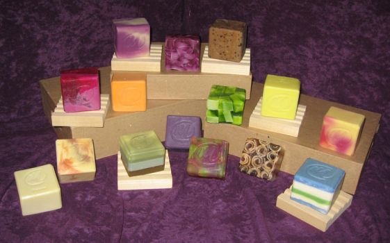 Many different soaps by tinkerheck