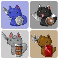 EBF4: Kitten Warriors by KupoGames