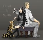 Floyd and Noelle with Genets by Hallucination-Walker