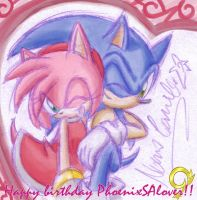 Happy birthday PhoenixSAlover by ShaNiraNac
