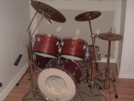 grandfather aged drums by cobalt900