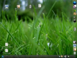 ArchLinux Gnome Screen - trans by xCrAcx