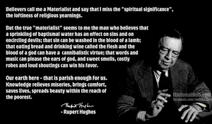 Rupert Hughes on religion.. by rationalhub