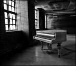 Piano Left behind by B5160-R