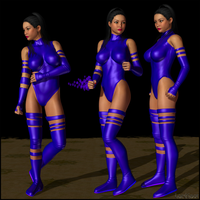Psylocke Is A Babe by LordSnot