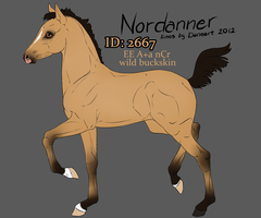 2667 Nordanner Foal by SWC-arpg