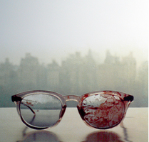 The glasses John Lennon wore when he got shot. by fiirsttherain