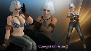 Cowgirl Christie by DragonLord720