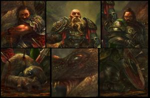 Dwarves - Close-up by Grosnez