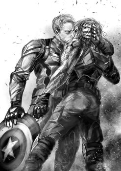 (yaoi/slash)Captain America:The Winter Soldier by sunsetagain