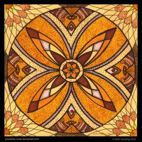 Autumn Glory Mandala by Quaddles-Roost