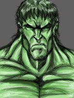 Hulk2 by CroctopusArt