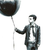 Suit and balloon by Gohush
