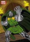Marvel Now! Trading Card Illustration: Dr Doom by DeJarnette