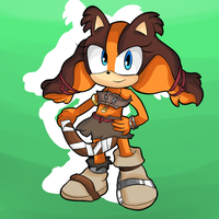 Sticks The Badger [SPEEDPAINT INCLUDED] by thegamingdrawer