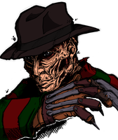 Freddy Krueger by mlpochea