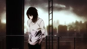 L Lawliet by Bad--Girl