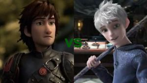 Hiccup vs Jack Frost by mewnadjaXJackFrost