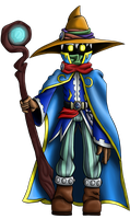 Magus the Black Mage by OrionTHedgehog