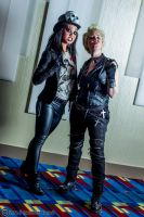 Alice Cooper and Billy Idol 2 by Insane-Pencil