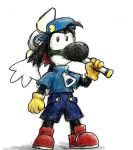Red in Klonoa costume by shadowspark