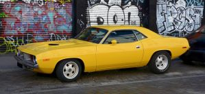 Yellow Cuda by cmdpirxII