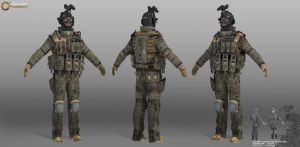 Russian Assult Unit by yinteck