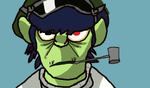 Murdoc Meloncholy Hill III by Loup675