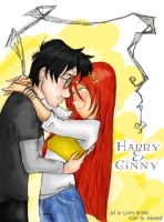 Harry and Ginny Sunlit Days by nelsonaof