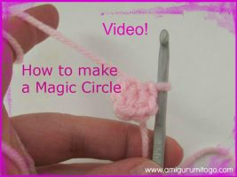 Magic Circle or Adjustable Ring  Video Tutorial by sojala