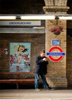 When I decided to use the London Underground... by chusonic