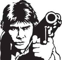 Han Solo Vector by Swaptrick