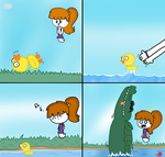 The Duck (comic) by NatoMan2