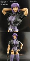 Major Motoko Kusanagi by Jin-Saotome