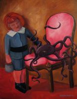 boy with octopus by themanda