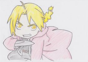 Edward Elric 2 by Travisat23